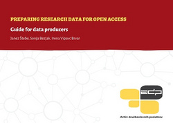 Preparing Research Data for Open Access. Guide for Data Producers.