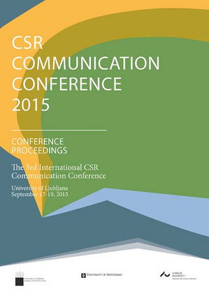 CSR COMMUNICATION CONFERENCE 2015: CONFERENCE PROCEEDINGS