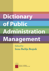 Dictionary of Public Administration Management